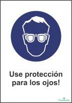 Use protección para los ojos