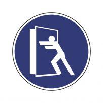 Bitte Tür schließen!-piktogramme
