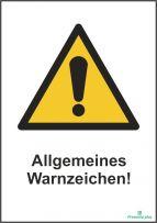 Allgemeines Warnzeichen