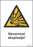 Nevarnost eksplozije