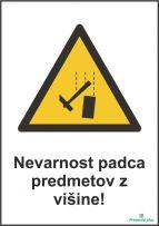Nevarnost padca predmetov z višine