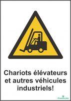 Chariots élévateurs et autres véhicules industriels
