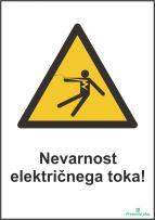 Nevarnost električnega toka