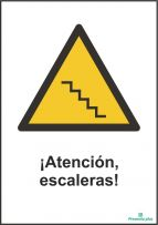 ¡Atención, escaleras!