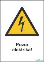 Pozor elektrika!