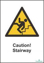 Caution! Stairway