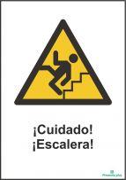 ¡Cuidado! ¡Escalera!
