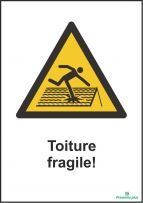 Toiture fragile