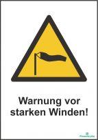 Warnung vor starken winden