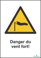 Danger du vent fort!