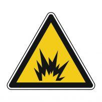 Warnung vor explosionsgefährlichen Stoffen!-piktogramme
