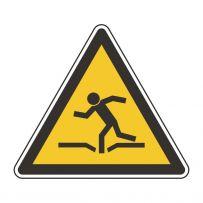 Warnung vor einsturzgefahr!-piktogramme
