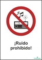 ¡Ruido prohibido!