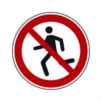 Laufen verboten!-piktogramme